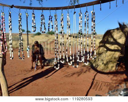 Bushmens Village, Kalahari Desert, Namibia