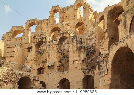 Ancient Colosseum Inside