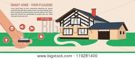 Banner - smart home