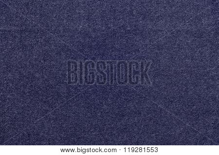Speckled Textured Monochrome Background From Fabric Of Dark Violet Color
