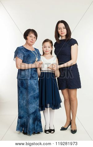 The Grandmother, Mother And The Granddaughter