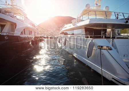 Luxury Yachts In Monte Carlo