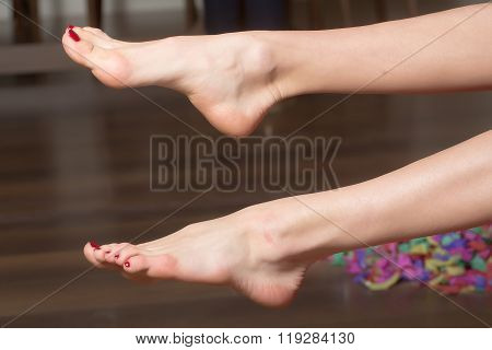 Female Bare Feet