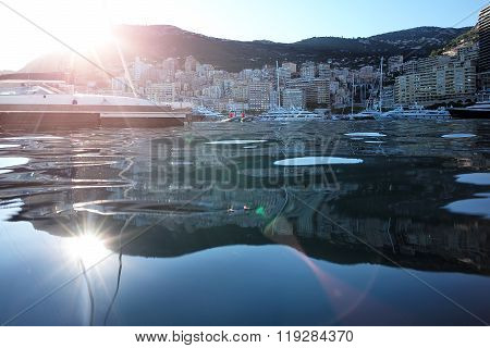 Monte Carlo Reflected In Sea