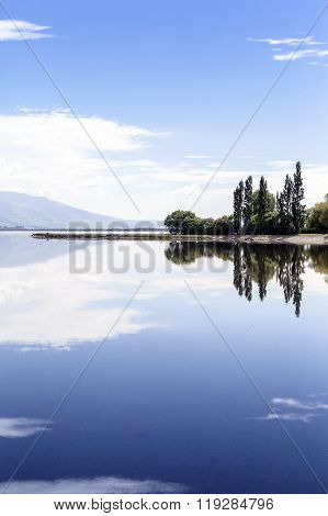 Sunny Day At Lakeside