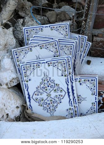 Discarded Wall Tiles