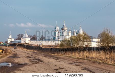 Nikitsky Monastery in the spring