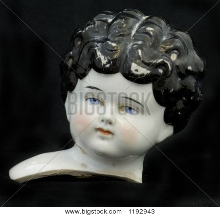 China Doll Head Front
