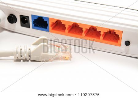 Unplugged Network Cable