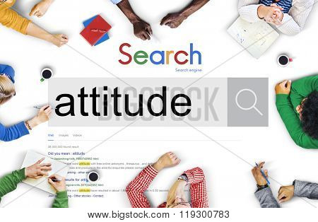 Attitude Behaviour Character Demeanor Concept