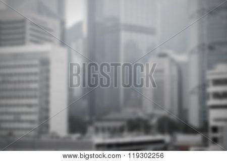 Blur Cityscape