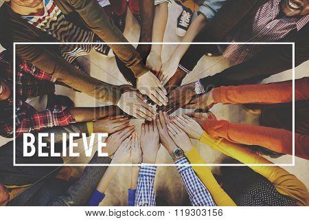 Believe Faith Religion Worship Mindset Belief Concept