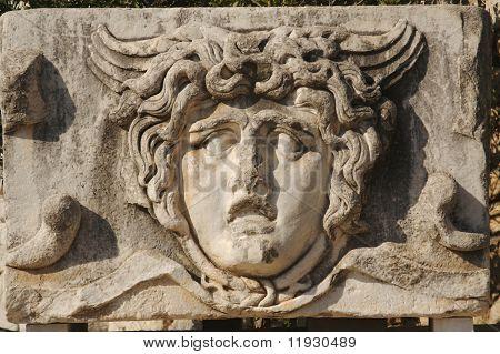 Face Relief from Ephesus, Turkey