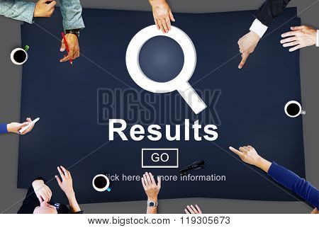 Results Information Homepage Evaluation Search Concept