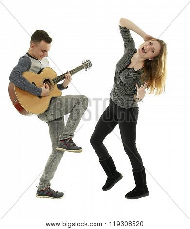 Rock And Roll Teens