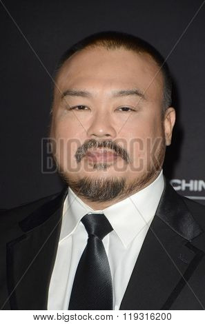 LOS ANGELES - FEB 22:  Darryl Quon at the Crouching Tiger  Hidden Dragon - Sword of Destiny Premiere at the AMC Universal Citywalk on February 22, 2016 in Universal City, CA