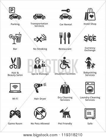 Tourism & Travel Icons