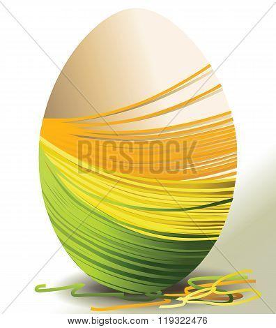 Handcraft Easter egg