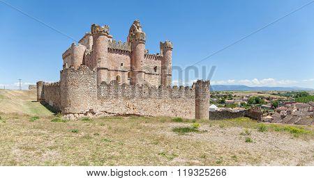 Panoramic View On Castle Of Turegano