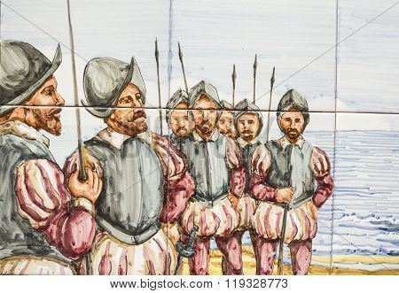 16 Th Century Spanish Soldiers