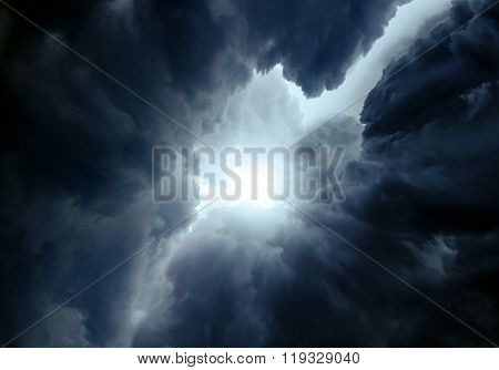 Dramatic Cloud Background