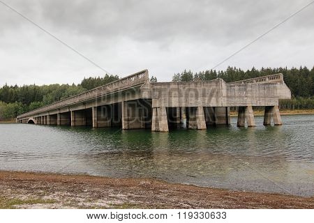 Unfinished Highway Bridges, Czech Republic