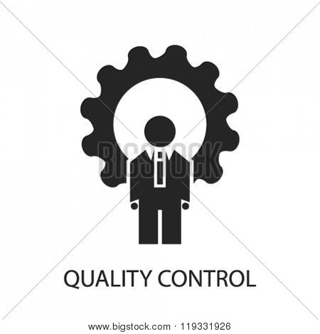 quality control icon, quality control logo, quality control icon vector, quality control illustration, quality control symbol, quality control isolated, quality control image, quality control concept