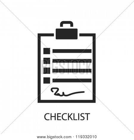 checklist icon, checklist logo, checklist icon vector, checklist illustration, checklist symbol