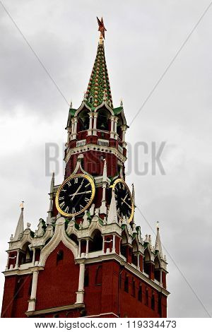 Spasskaya Tower. Moscow Kremlin.