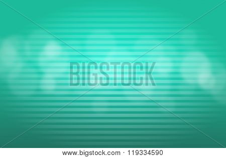 Turquoise Background With Lights
