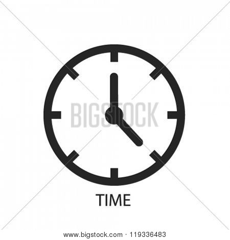 time icon, time logo, time icon vector, time illustration, time symbol, time isolated, time image, time drawing, time concept
