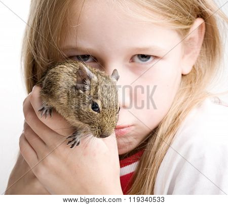 Girl With Mouse