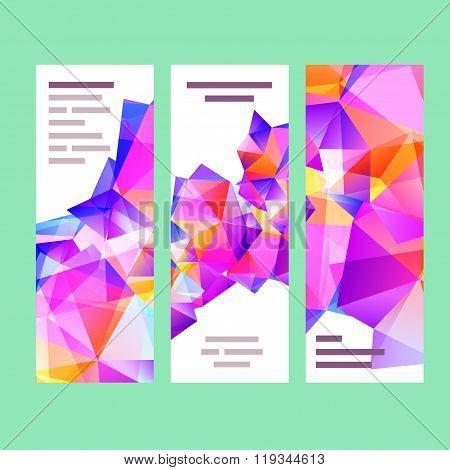 Collection banner design vector illustration.