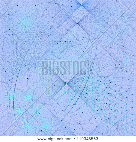 Sacred Geometry Symbols And Elements Wallpaper Pattern