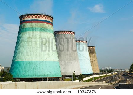 Thermal power stations and cooling tower