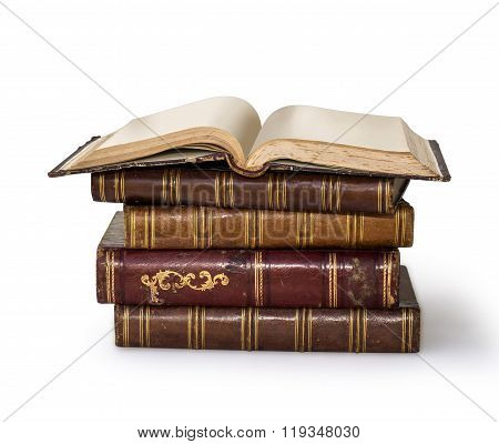 Old Books R Over White