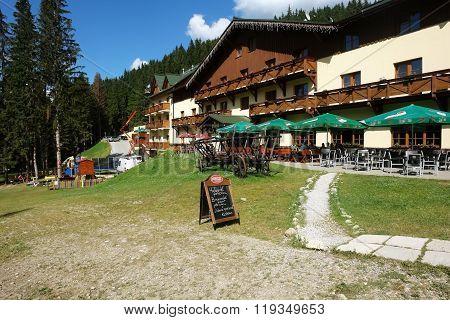 Mountain Hotel In Jasna.