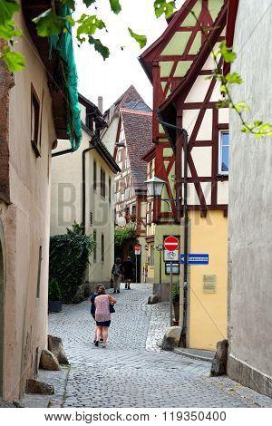 Rothenburg Ob Der Tauber, Germany.