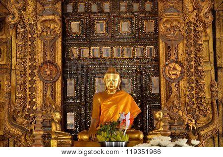 Shwenandaw Kyaung Temple Myanmar