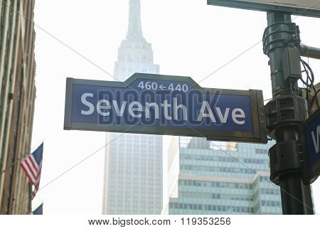 Seventh Avenue Sign