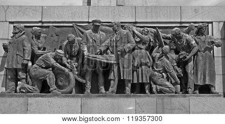 Soviet Army monument