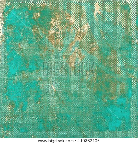 Rough grunge texture. With different color patterns: yellow (beige); brown; green; blue; gray
