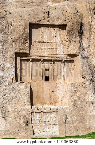 Ancient tombs of Achaemenid kings at Naqsh-e Rustam in Iran