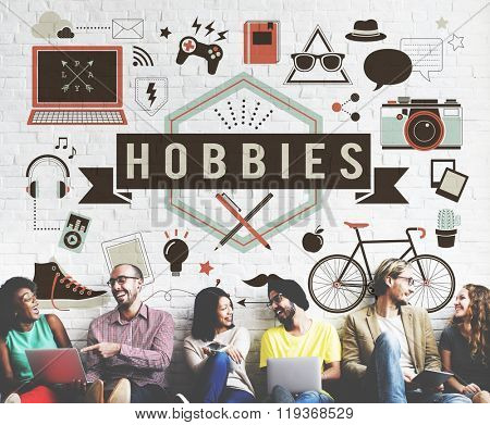 Hobbies Activity Amusement Freetime Interest Concept
