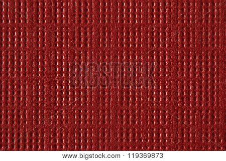 Red Textured Paper Macro