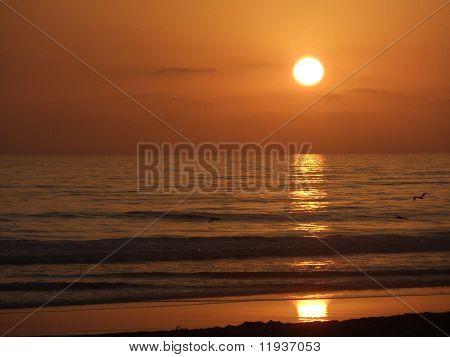 San Diego California Beach Sunset