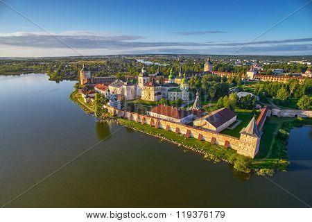 Kirillo-Belozerskiy Monastery Aerial