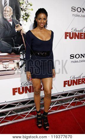 Ciara at the World Premiere of