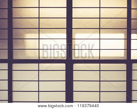 Japan Traditional Wall Pattern Background