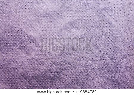 Purple Tissue Paper Napkin Abstract Background